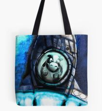Runaway Cow in space Tote Bag
