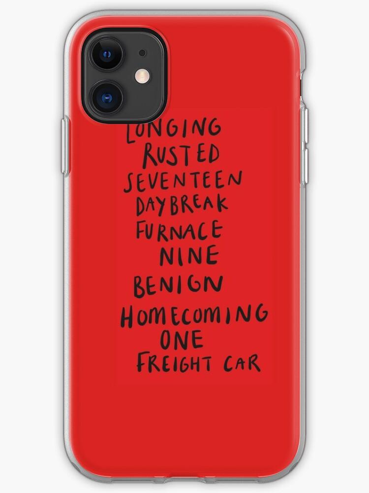 Bucky Barnes Art Civil War iphone case