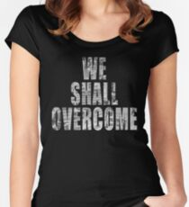 We Shall Overcome: March on Washington, 1963 II Women's Fitted Scoop T-Shirt