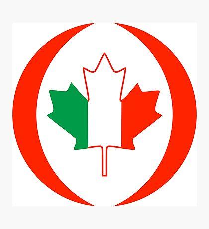 Irish Canadian Multinational Patriot Flag Series Photographic Print