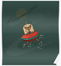 Galaxy Cat - Lost in Space Poster