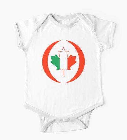 Irish Canadian Multinational Patriot Flag Series Kids Clothes