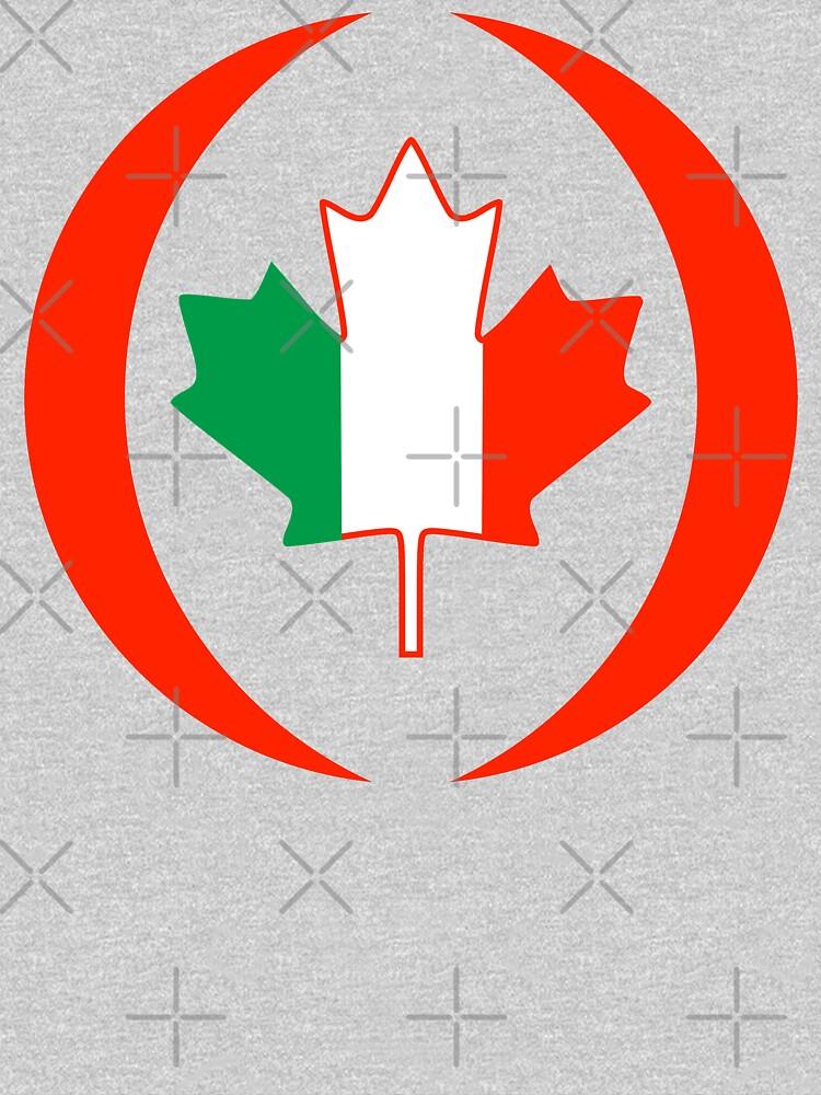Irish Canadian Multinational Patriot Flag Series by carbonfibreme