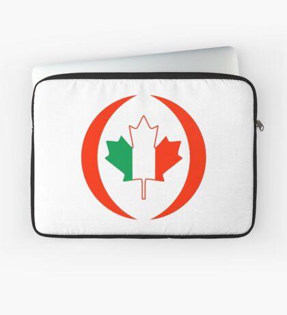 Irish Canadian Multinational Patriot Flag Series Laptop Sleeve