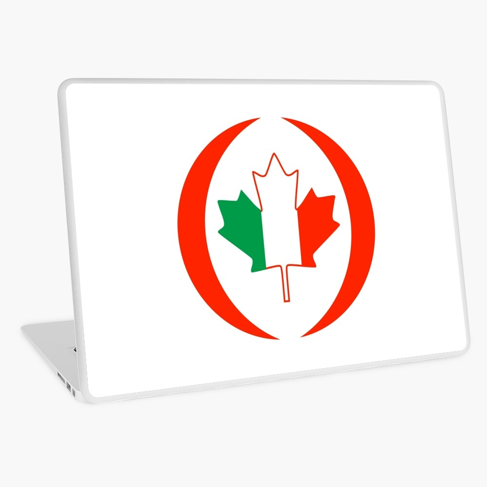 Irish Canadian Multinational Patriot Flag Series Laptop Skin
