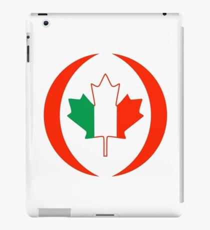 Irish Canadian Multinational Patriot Flag Series iPad Case/Skin