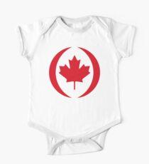 Canadian Flag 1.0 One Piece - Short Sleeve