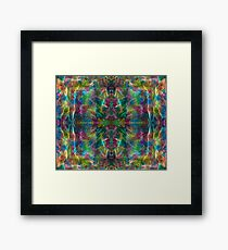 The Jungle Protector gorgeous vibrant intricate ink design Framed Print