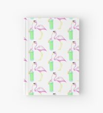 Flamingo Cocktail Party Hardcover Journal
