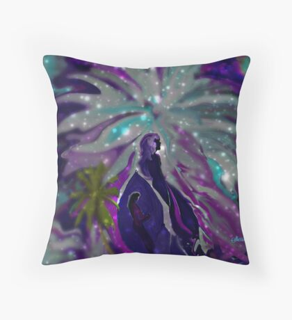 Me and My Shadow by Sherri Of Palm Springs Throw Pillow