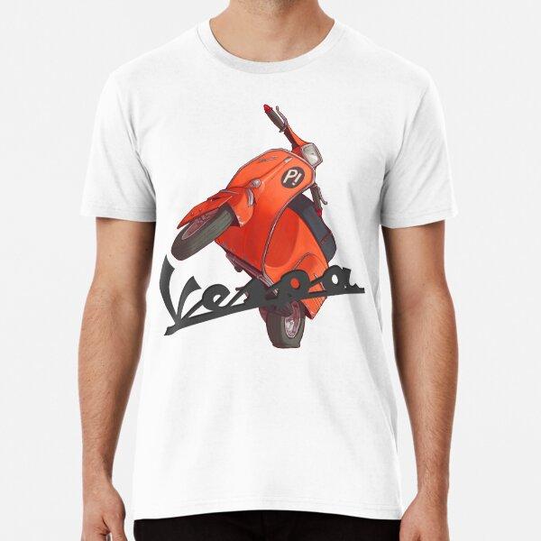 Vespa vintage time laps Premium T-Shirt