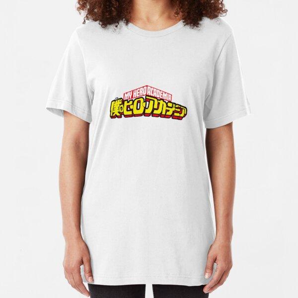 Boku no Hero - My hero academia Slim Fit T-Shirt