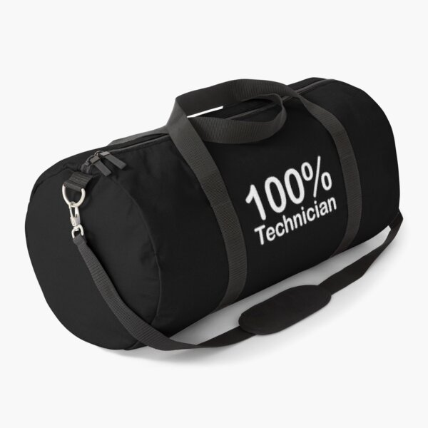 Technician, Unique and ingenious fun gifts, there is for everyone. Duffle Bag
