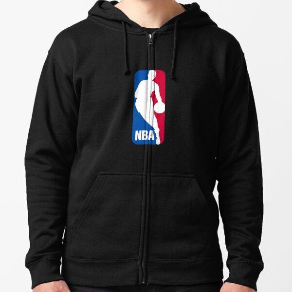 NBA, nba logo Zipped Hoodie