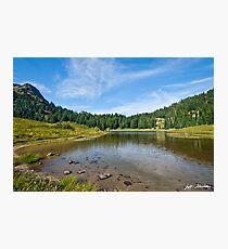 Tipsoo Lake and Meadow Photographic Print
