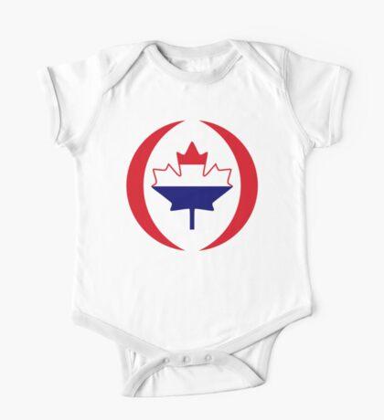 Dutch Canadian Multinational Patriot Flag Series Kids Clothes