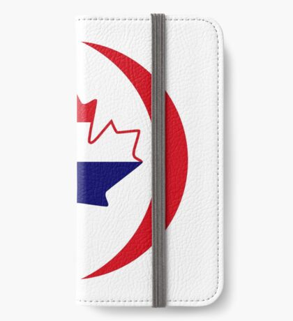 Dutch Canadian Multinational Patriot Flag Series iPhone Wallet