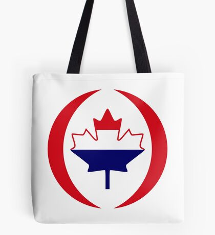 Dutch Canadian Multinational Patriot Flag Series Tote Bag