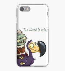 Plants vs Zombies The World Is Mine  iPhone Case/Skin