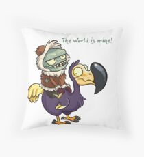 Plants vs Zombies The World Is Mine  Throw Pillow