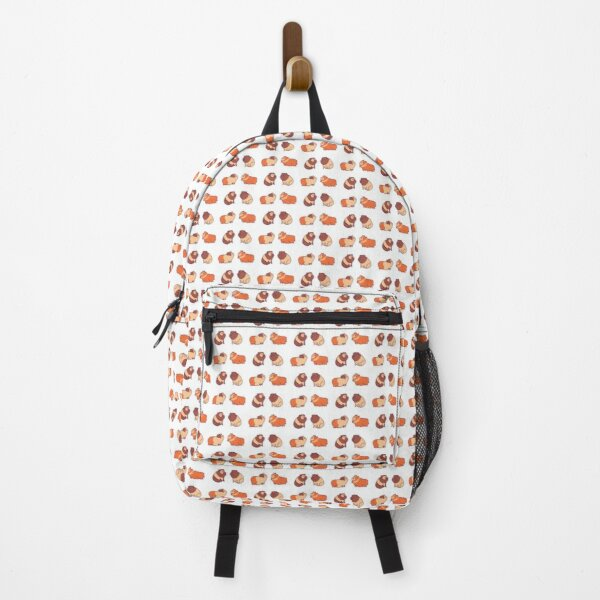 Adorable guinea pigs fur pattern pack Backpack