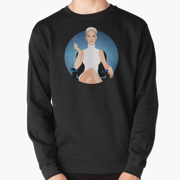 Ice blue Pullover Sweatshirt