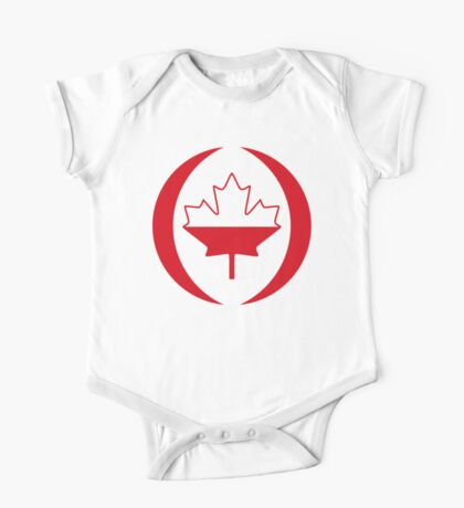 Polish Canadian Multinational Patriot Flag Series Kids Clothes