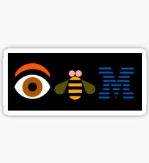 IBM - Eye Bee M Sticker