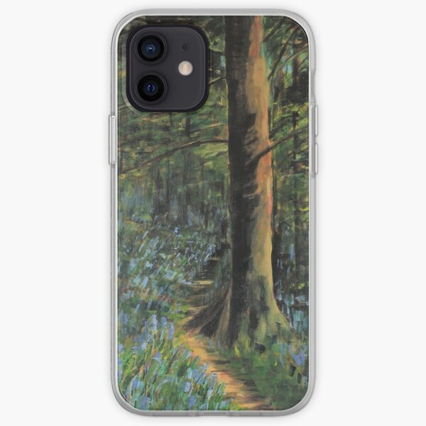 Bluebell wood iPhone Soft Case