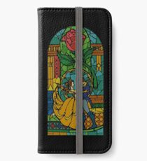 Beauty and The Beast - Stained Glass iPhone Wallet/Case/Skin