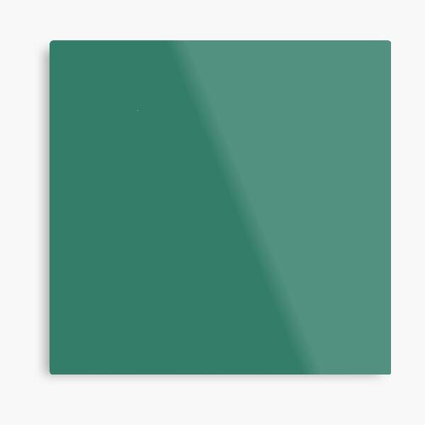Aguamarina oscura turquesa color pacífico y relajante. Lámina metálica
