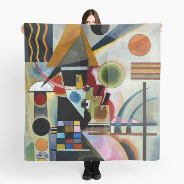 Kandinsky - Swinging, famous abstract painting Scarf