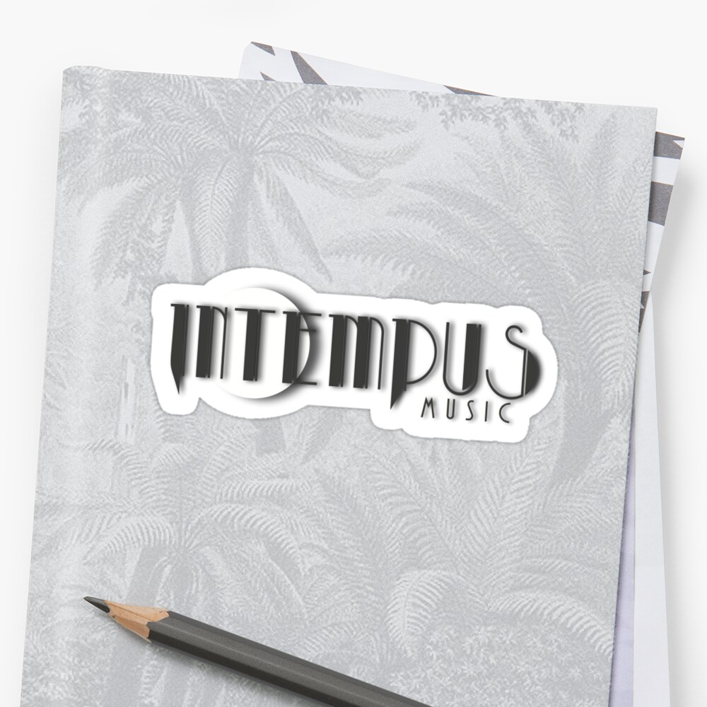 Intempus Logo Sticker