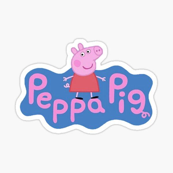 Cerdito peppa Pegatina