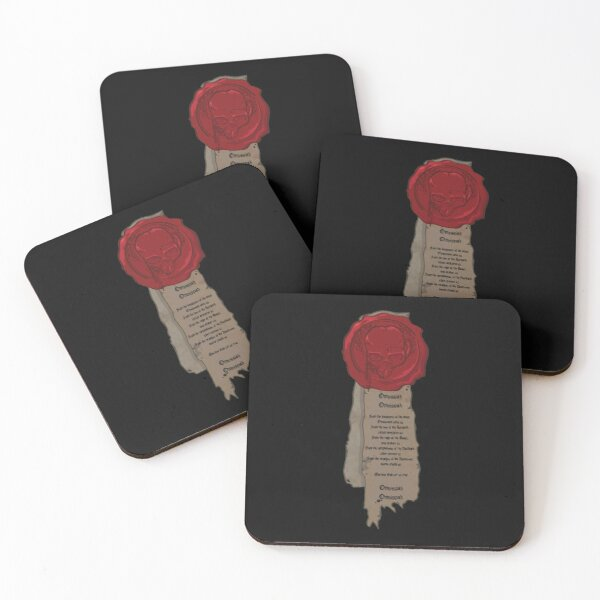 Seal of Purity Coasters (Set of 4)