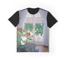 C17 Canalhouse Garden View, Amsterdam Graphic T-Shirt