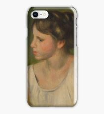 Auguste Renoir - Bust of a Woman  1895 iPhone Case/Skin
