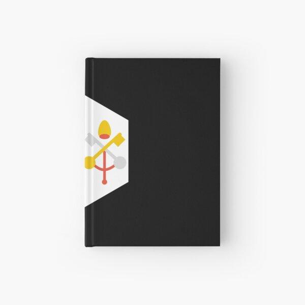 vatican city flag Hardcover Journal