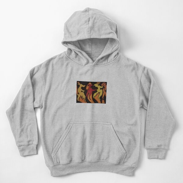 Dancing through the Fire Kids Pullover Hoodie