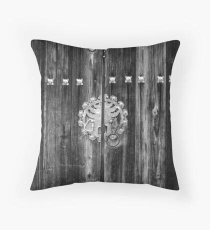 Opportunity's at The Gate Throw Pillow