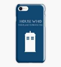 House Who iPhone Case/Skin