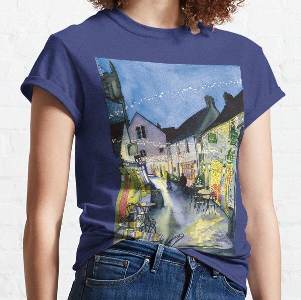 Fairy Lights at Swan Yard, Cirencester, UK  Classic T-Shirt