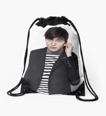 Handsome Lee Min Ho 2 Drawstring Bag