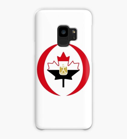 Egyptian Canadian Multinational Patriot Flag Series Case/Skin for Samsung Galaxy