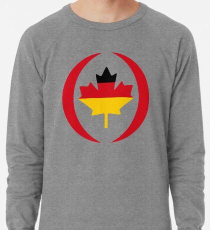 German Canadian Multinational Patriot Flag Series Lightweight Sweatshirt