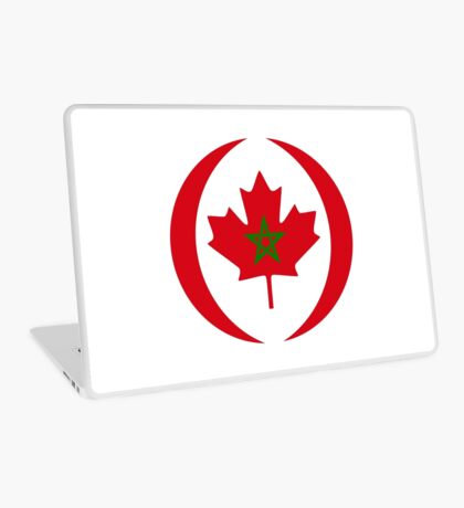 Moroccan Canadian Multinational Patriot Flag Series Laptop Skin