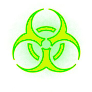Biohazard Glow by pratt-face