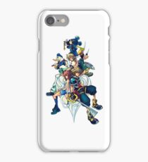 Kingdom Hearts 2 - Characters cover iPhone Case/Skin