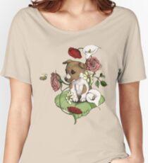 Puppy Bouquet Women's Relaxed Fit T-Shirt