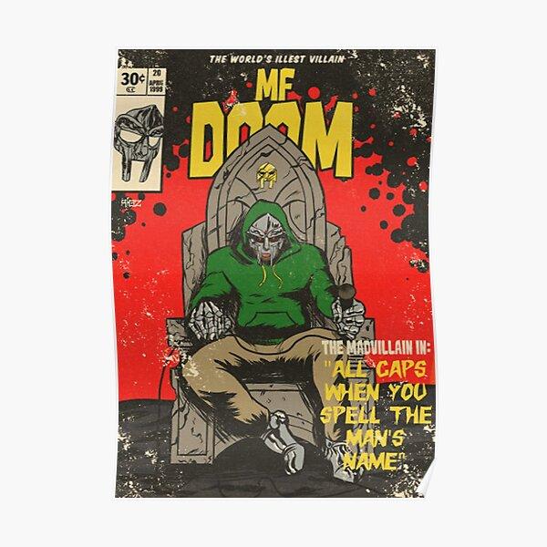 ALL CAPS-MF COMIC Poster